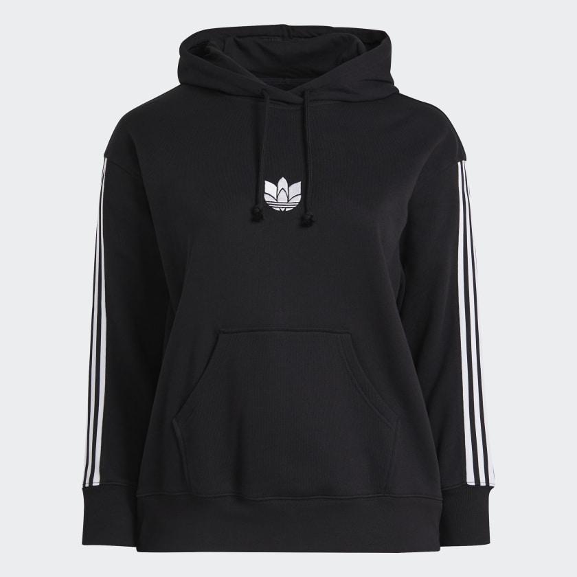 Felpa Adidas - Hoodie loungewear 3D Trefoil GN2931