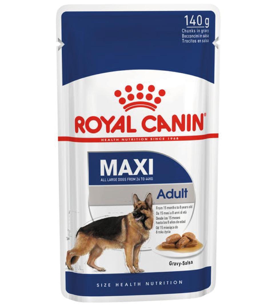 Royal Canin - Size Health Nutrition - Maxi Adult - 140g x 10 buste
