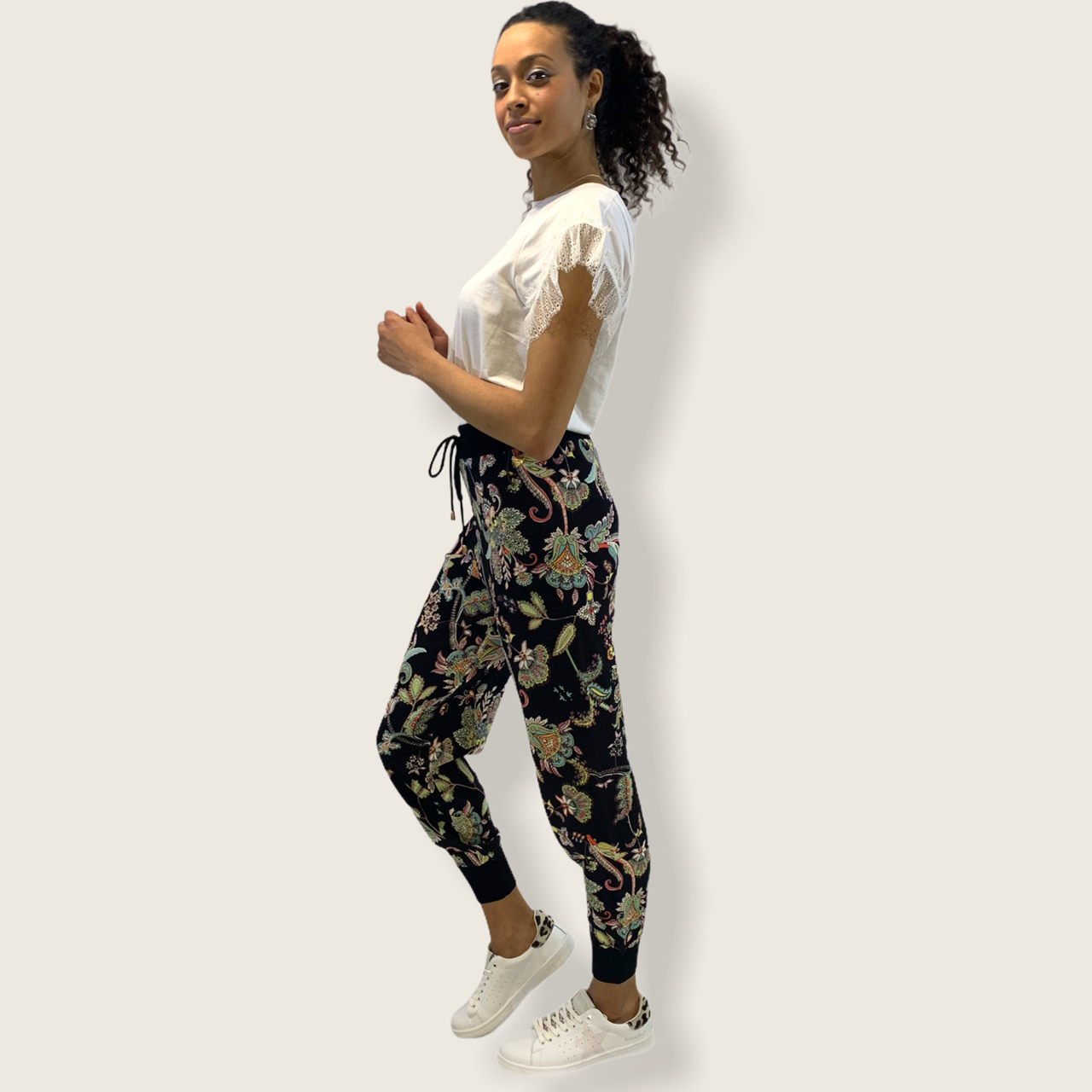 SHOPPING ON LINE TWINSET MILANO PANTALONE JOGGING NEW COLLECTION WOMEN'S SPRING SUMMER 2021