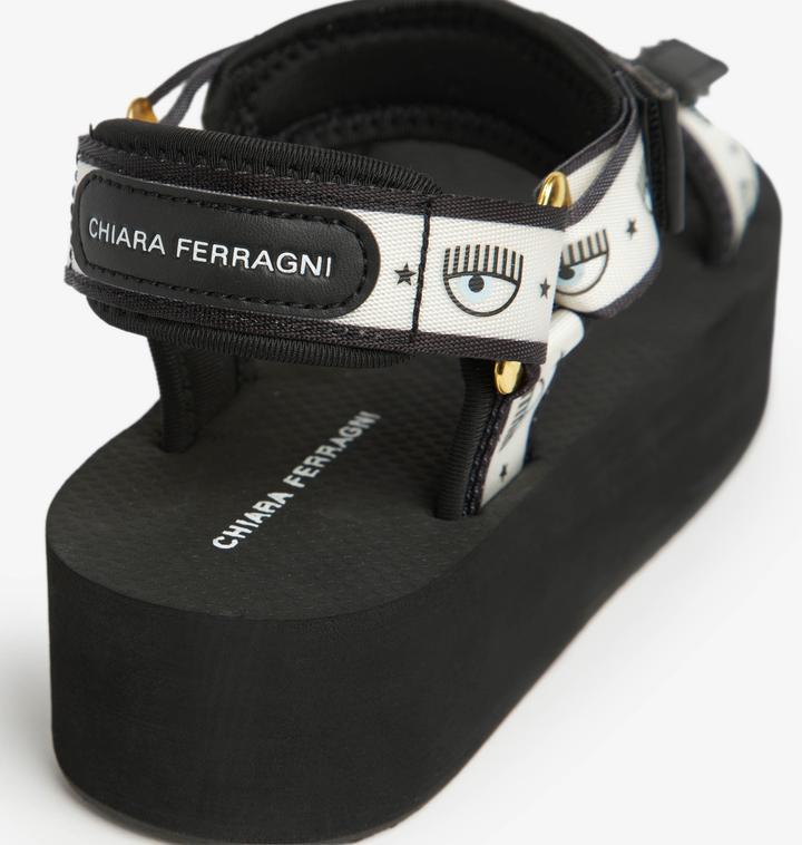 Sandali logomania chiara ferragni