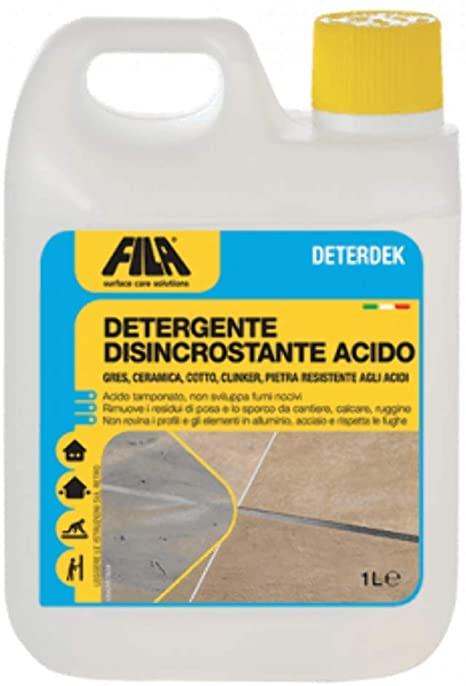 Fila detergente disincrostante acido 1 LT.