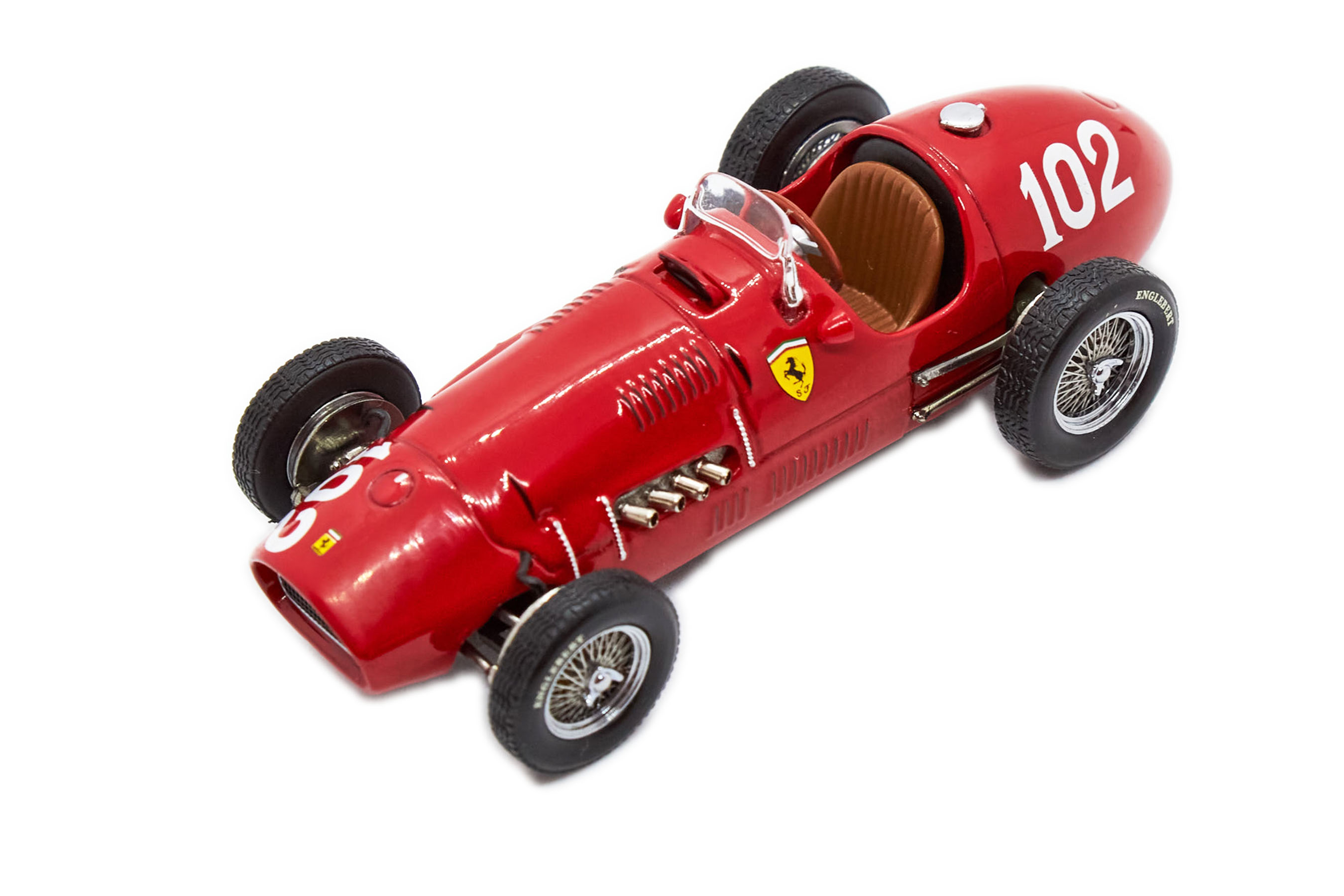 Ferrari 500 F2 #102 Win GP Nurburgring 1952 1/43 Ixo Hot Wheels