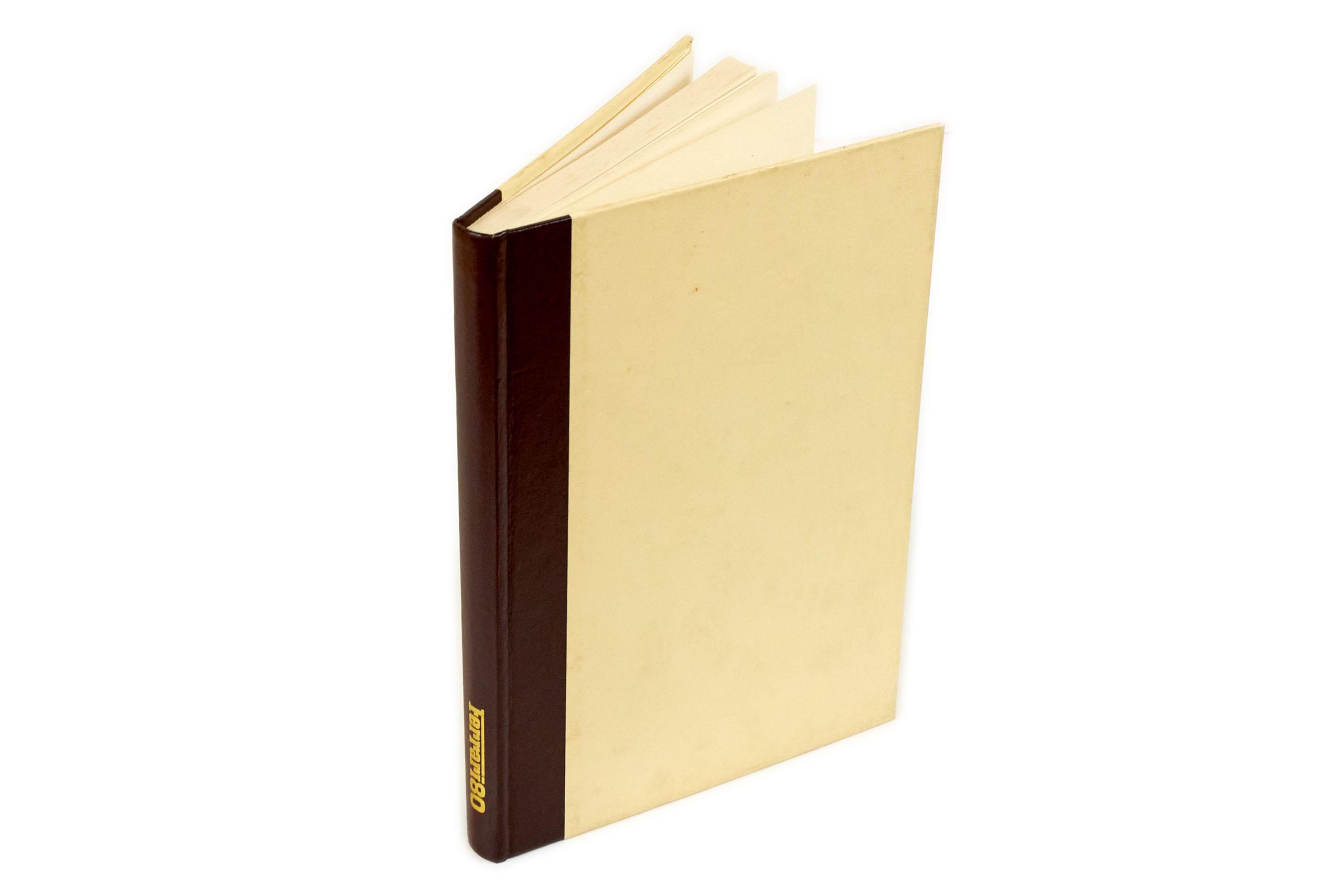 Libro Book Ferrari 80 - Enzo Ferrari- Ed.Arbe Officine Grafiche Modena 1979 Italiano