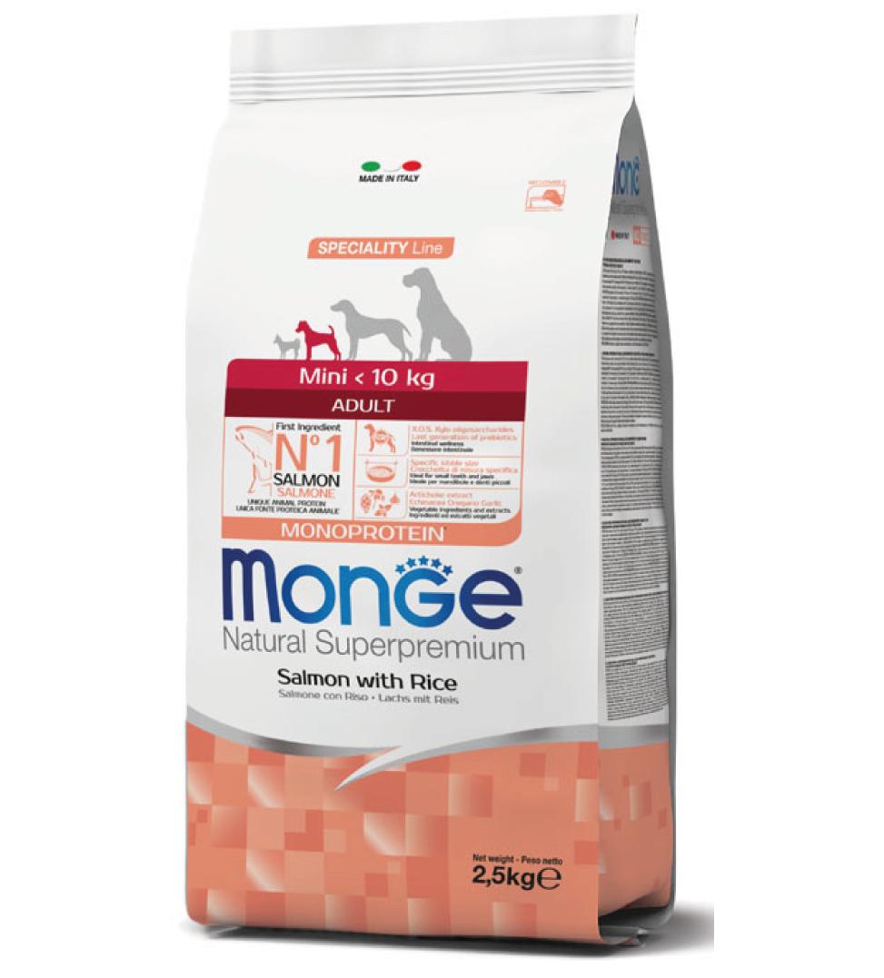 Monge - Natural Superpremium - Mini Adult - 2.5 kg