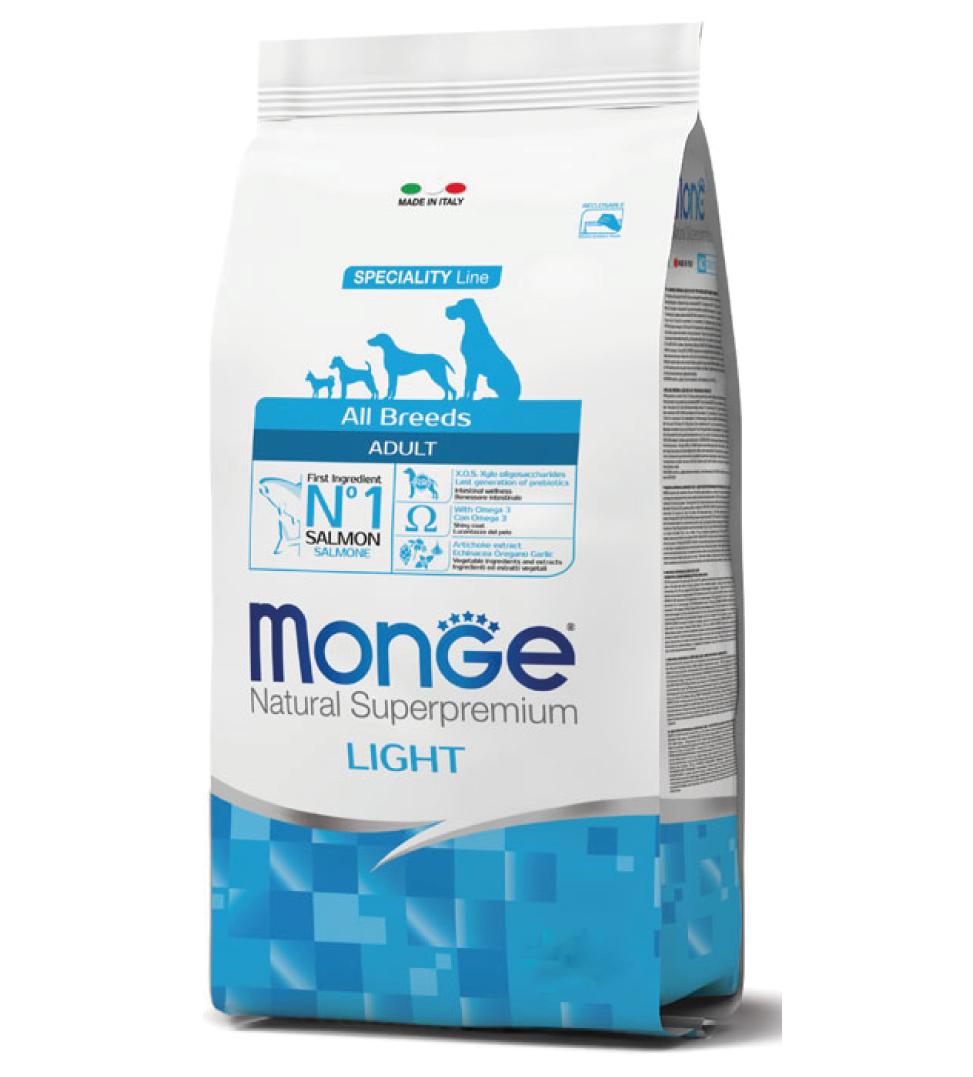 Monge - Natural Superpremium - All Breeds - Light - 12 kg
