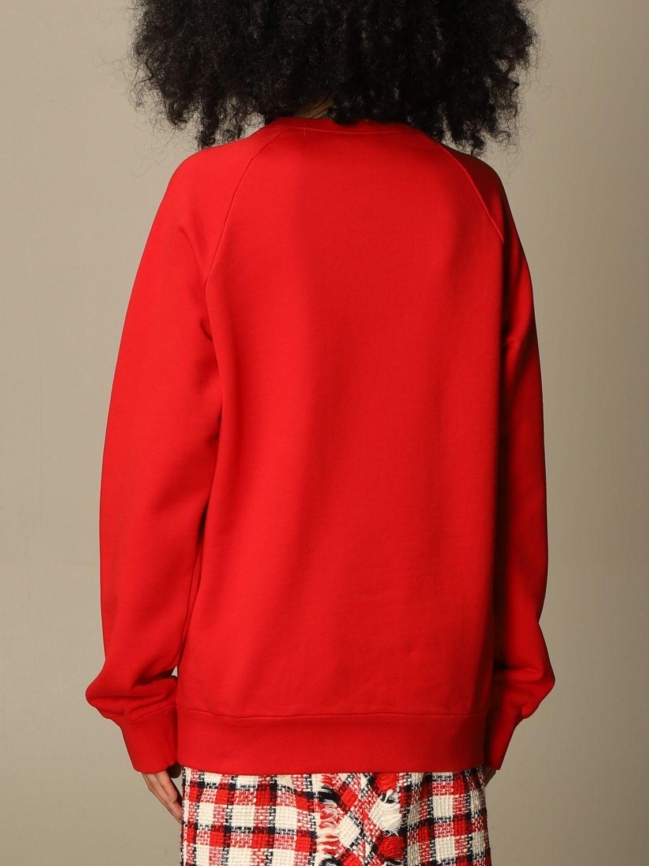 Felpa rossa N21 via santo spirito