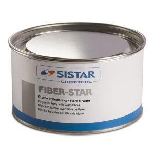 FIBER-STAR STUCCO POLIESTERE FIBRATO BLUE/VERDE PADELLA 1,80 KG C/INDURITORE - SISTAR