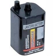 BATTERIA 4R25 BATTERIE PER LAMPEGGIATORE CANTIERE 6 VOLTS