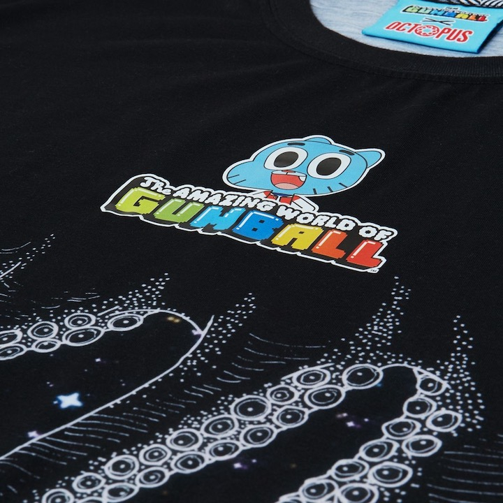 OCTOPUS X Gumball Tee Outro Black