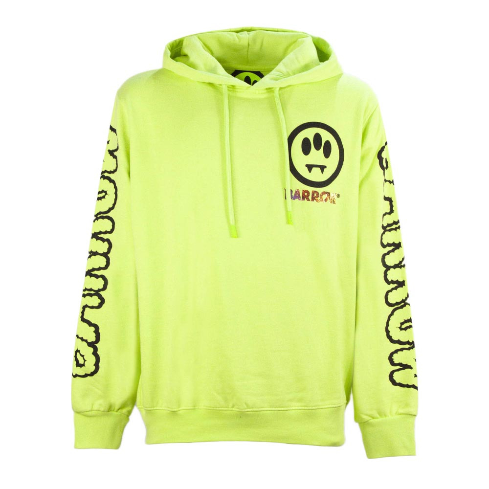 BARROW Hoodie Right Place Wrong Time Yellow