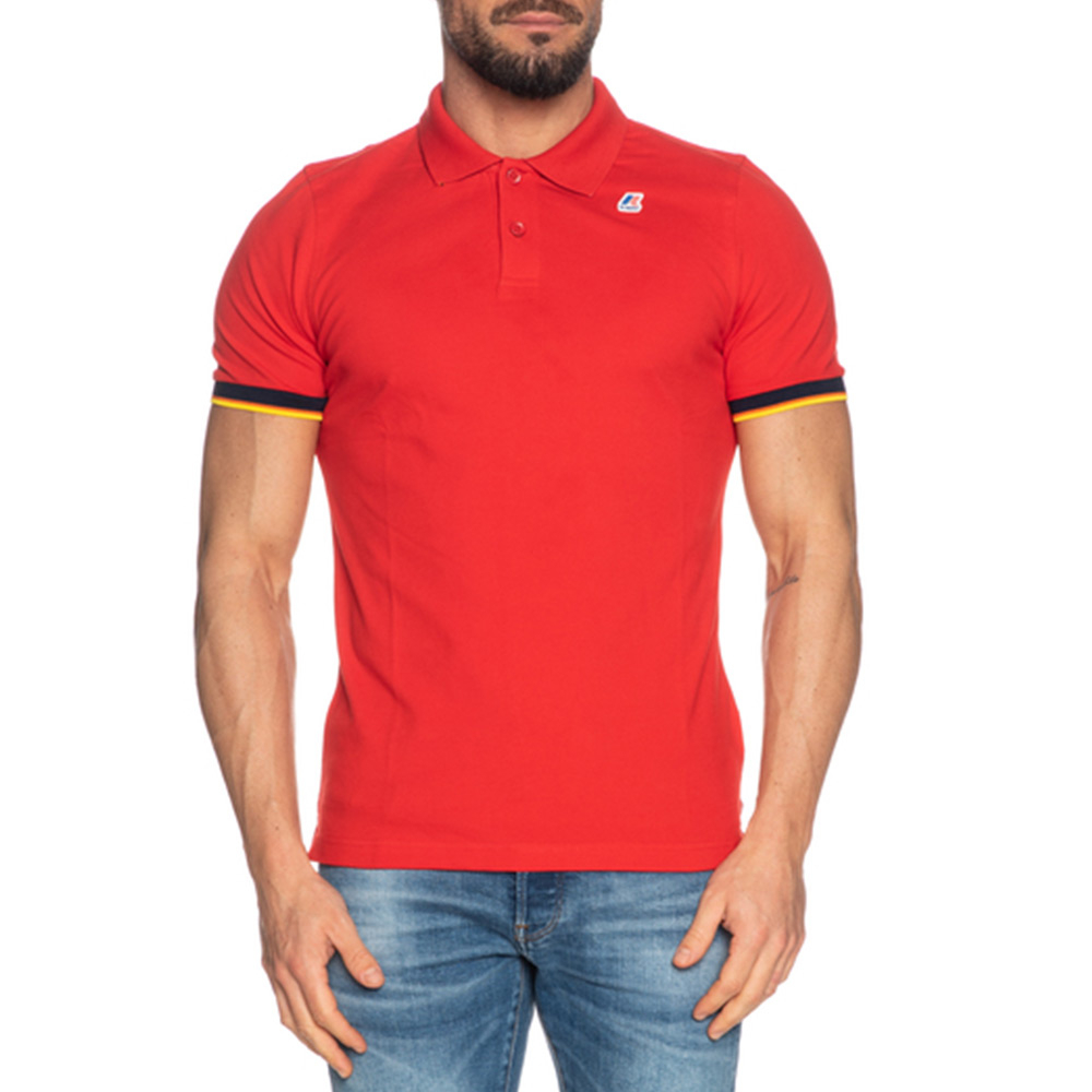 Polo Vincent Contrast Uomo K-WAY K008J50 Q03  -21