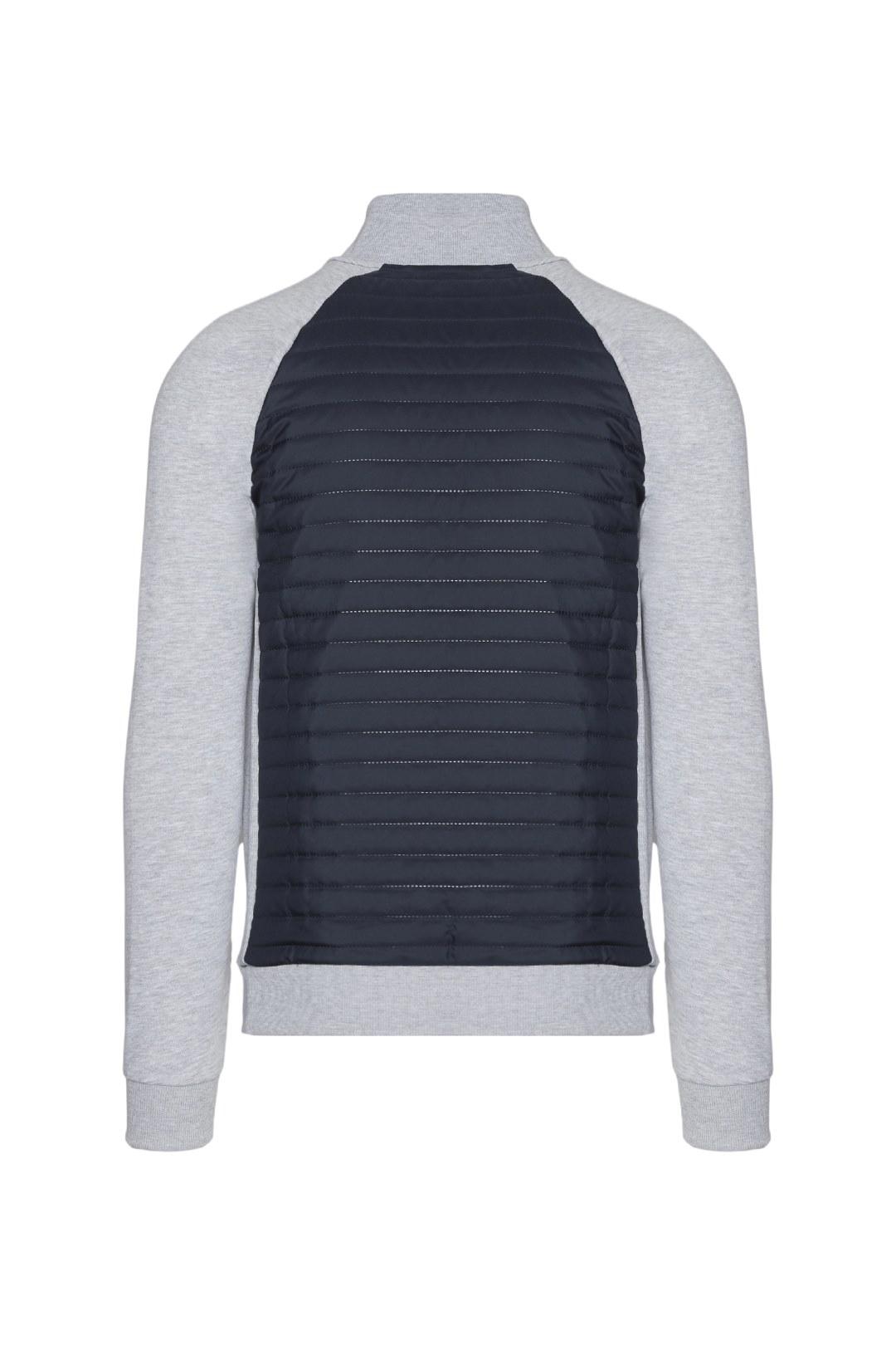 Quilted Fleece Jacket  2