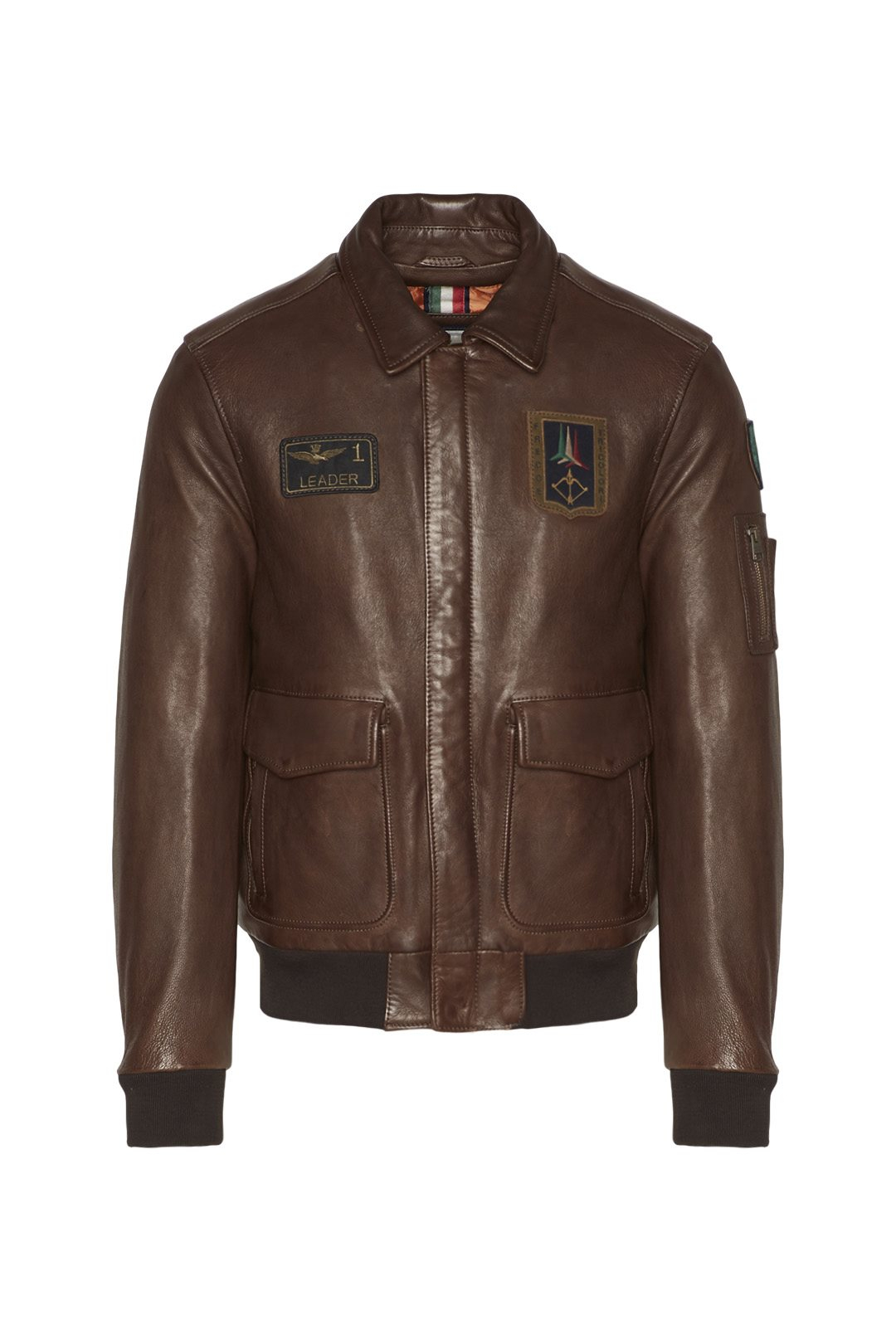 Giacca Pilot in pelle 1