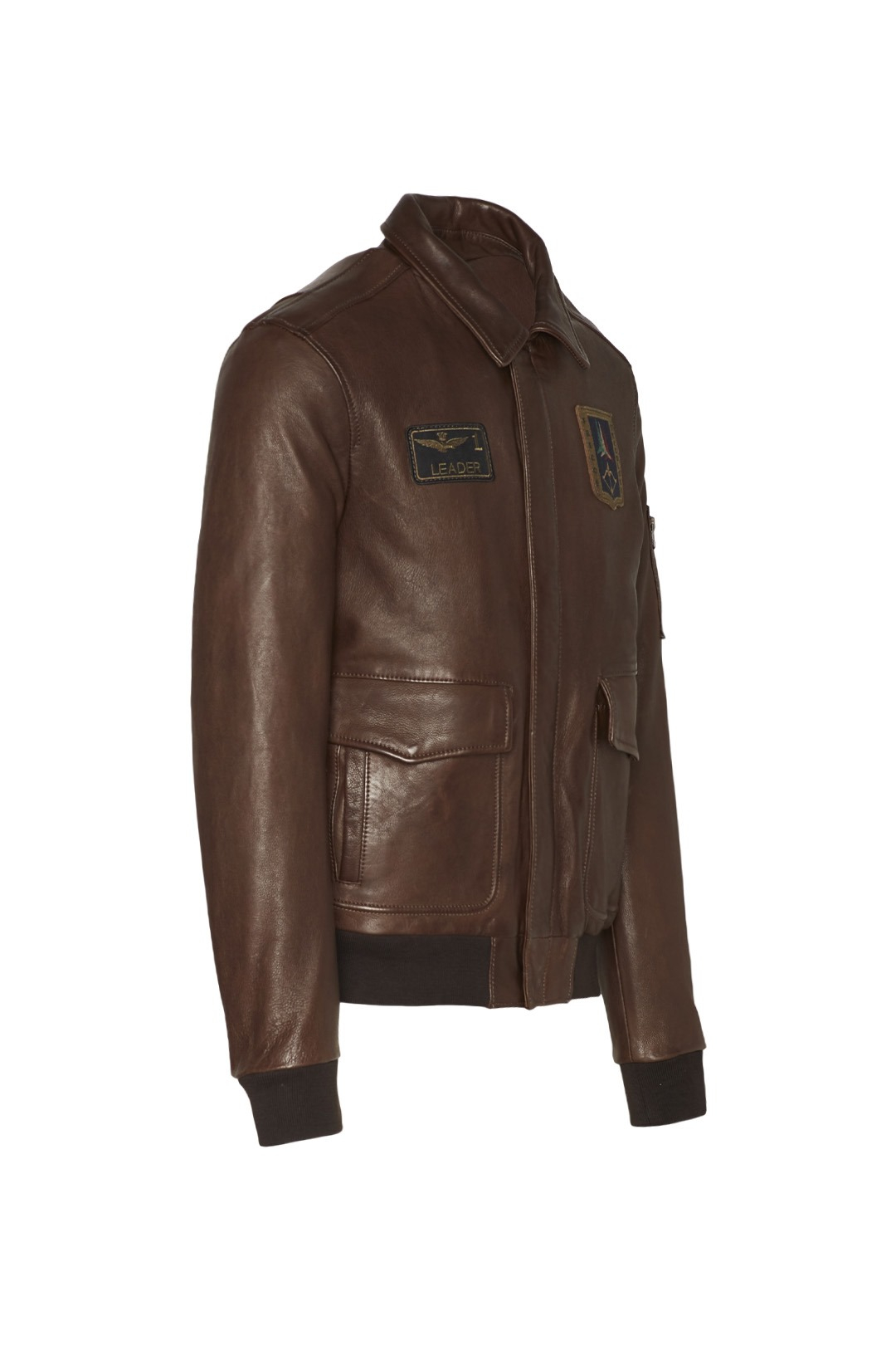 Giacca Pilot in pelle 3