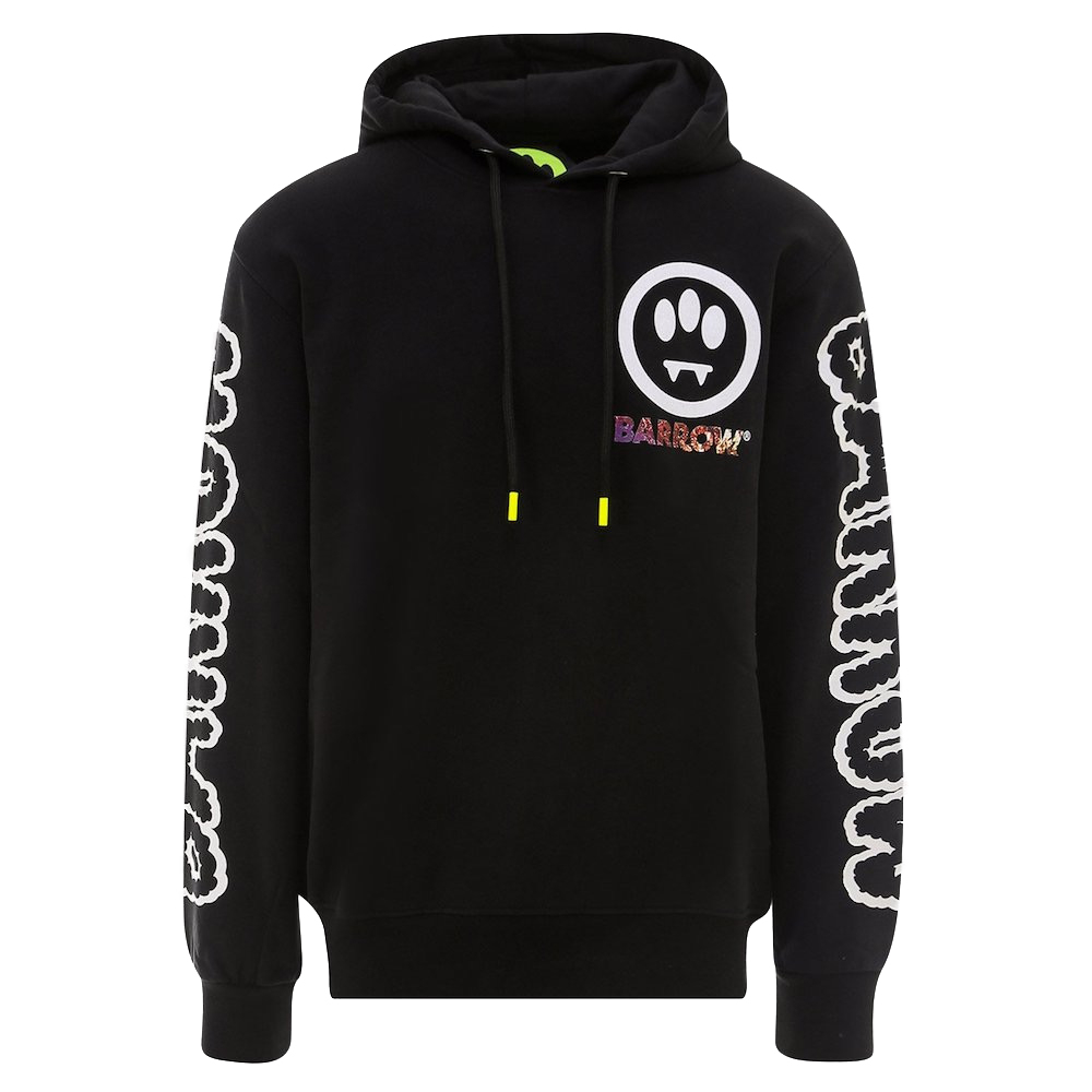 BARROW Hoodie Right Place Wrong Time Black