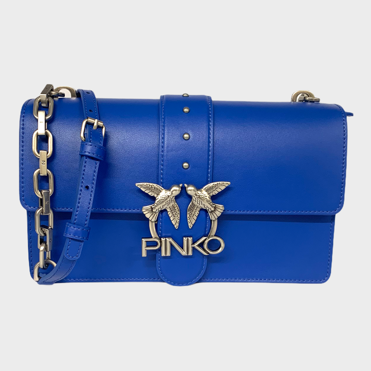 SHOPPING ON LINE PINKO BORSA LOVE ICON SIMPLY3 IN PELLE BOTTALATA NEW COLLECTION WOMEN'S SPRING SUMMER 2021