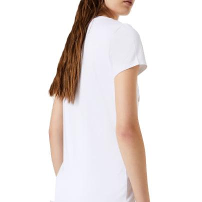 T Shirt stampa glitter LIU JO