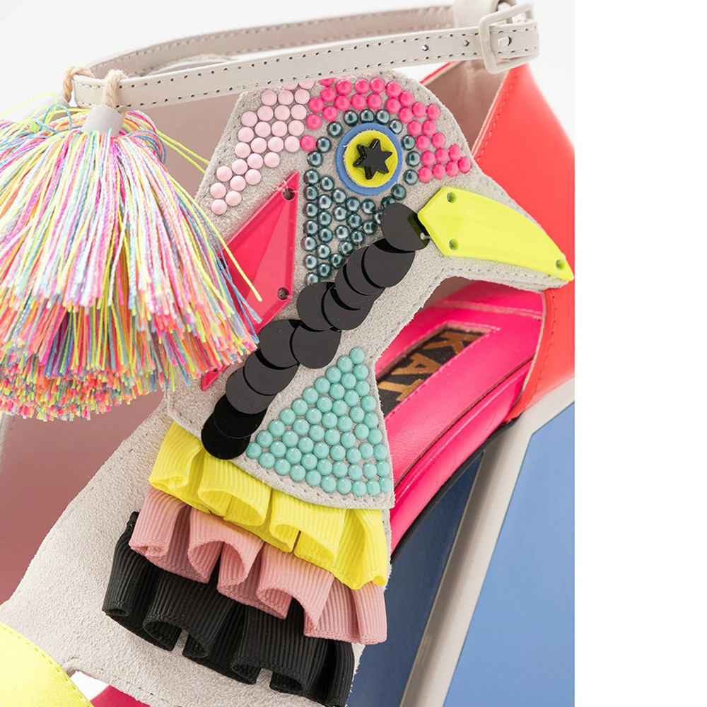 Sandalo in camoscio Donna Kat Maconie Aya  -21