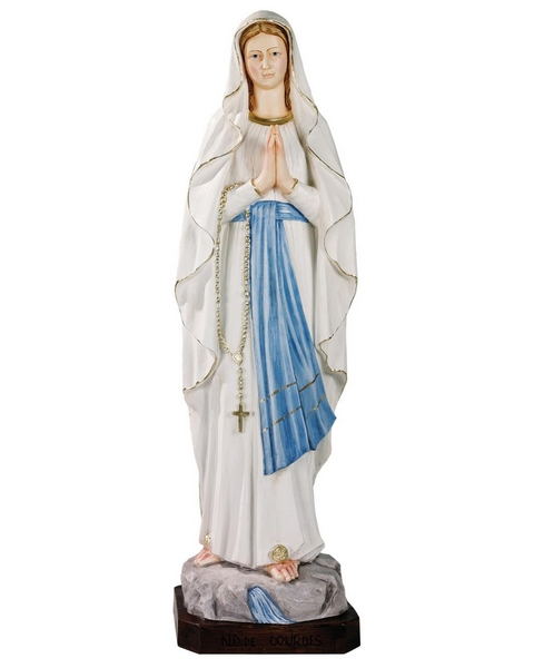 Madonna di Lourdes in resina cm. 110