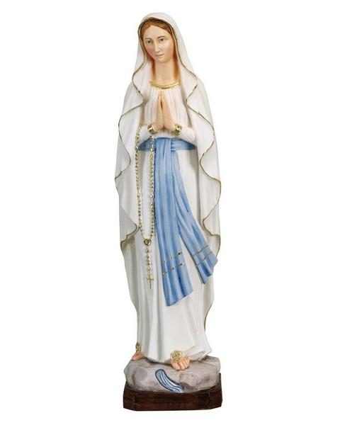 Madonna di Lourdes in resina cm. 50