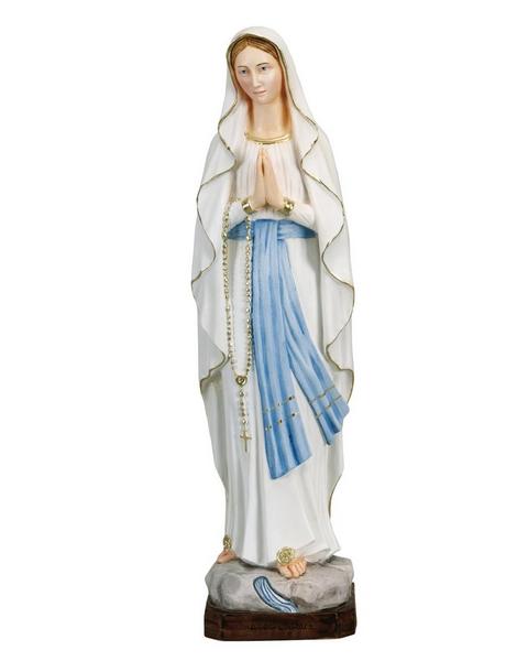 Madonna di Lourdes in resina cm. 60