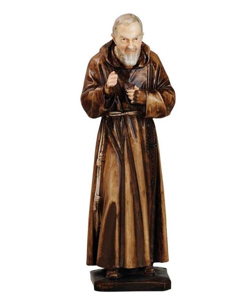 S. Pio da Pietrelcina in resina cm. 20