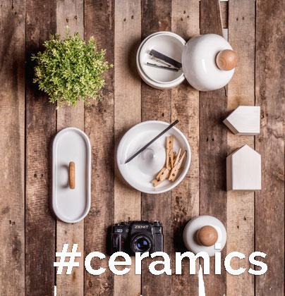 Ceramics home decoration minimal design made in italy faenza ceramics