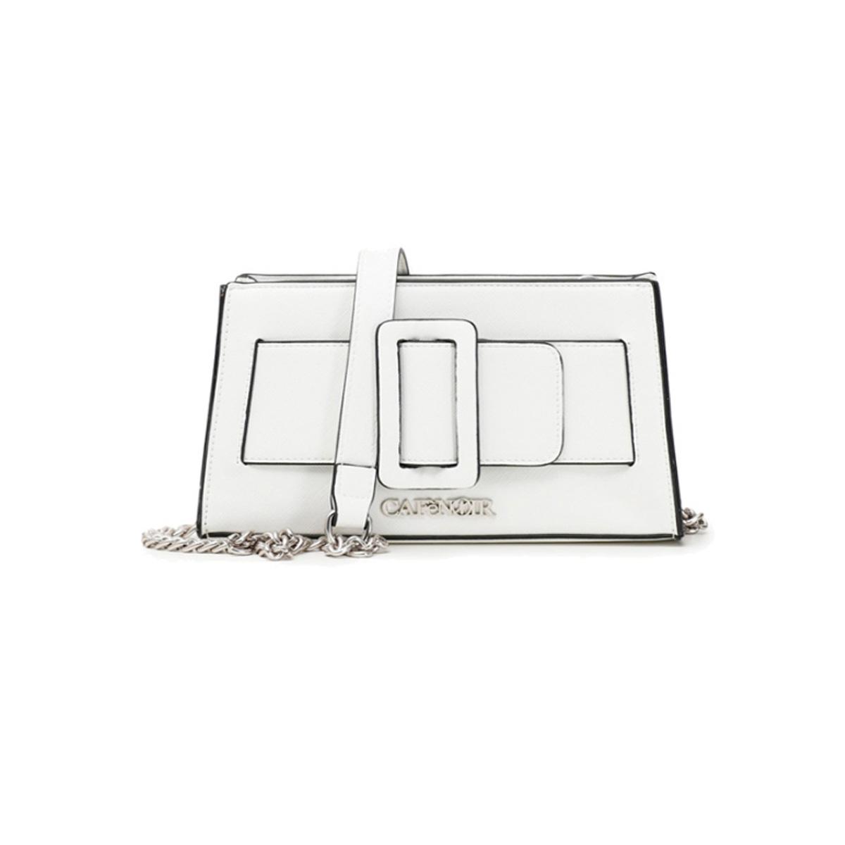 Minibag con maxi fibbia