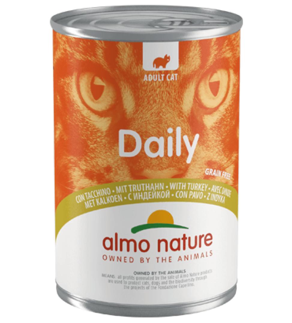 Almo Nature - Daily Cat - Adult - 400g x 24 lattine