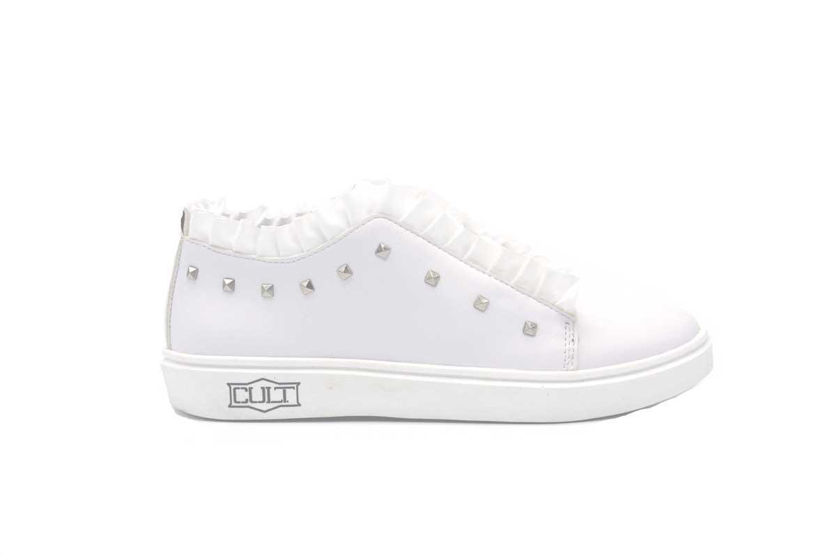 Pretty 1 sneaker con rouches