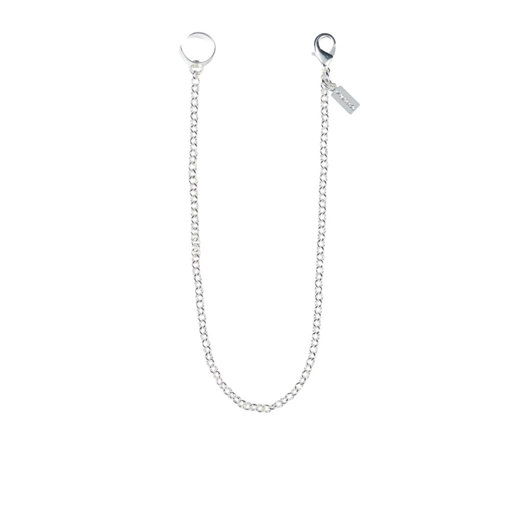 EARRING WITH CHAIN