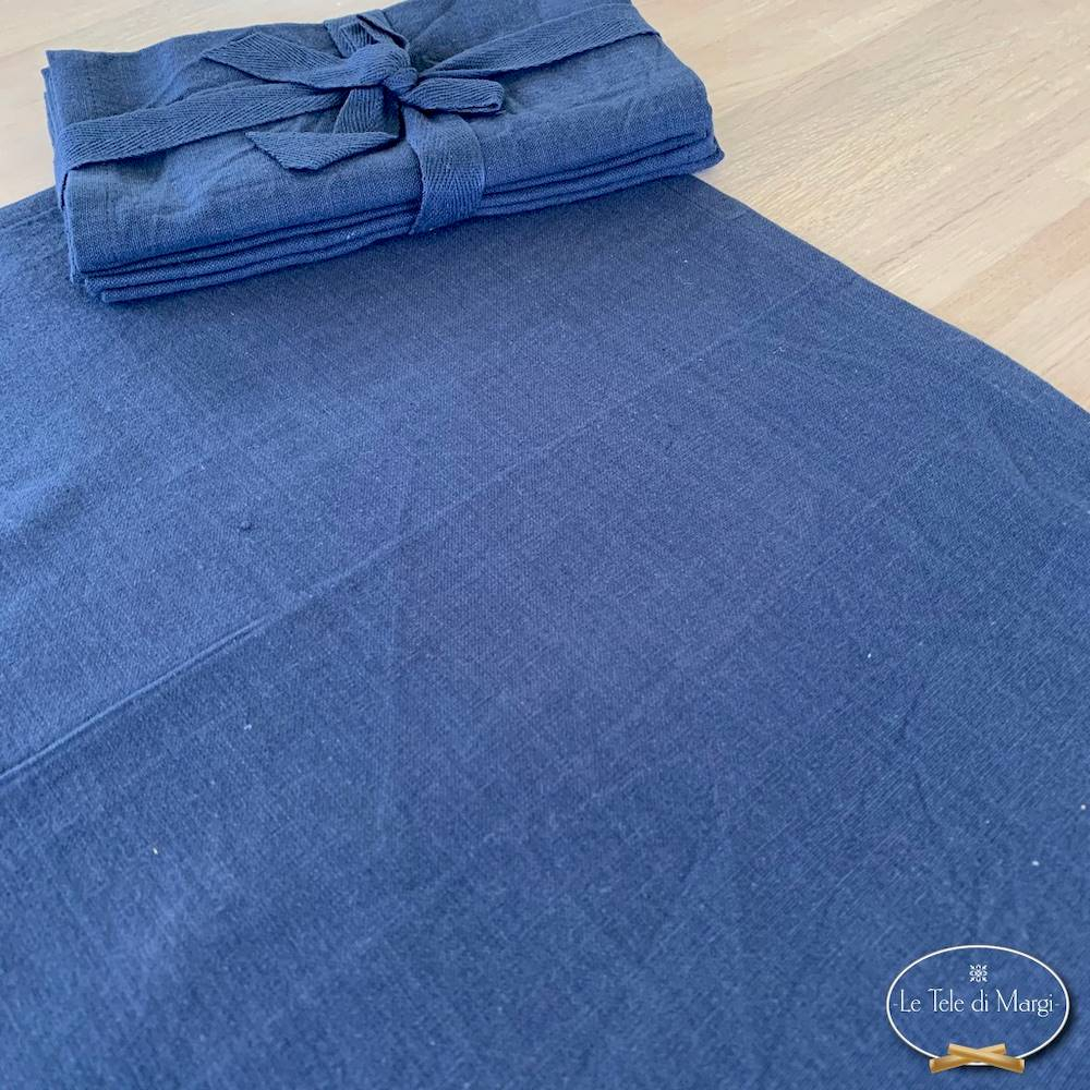 Set 4 tovaglioli blu