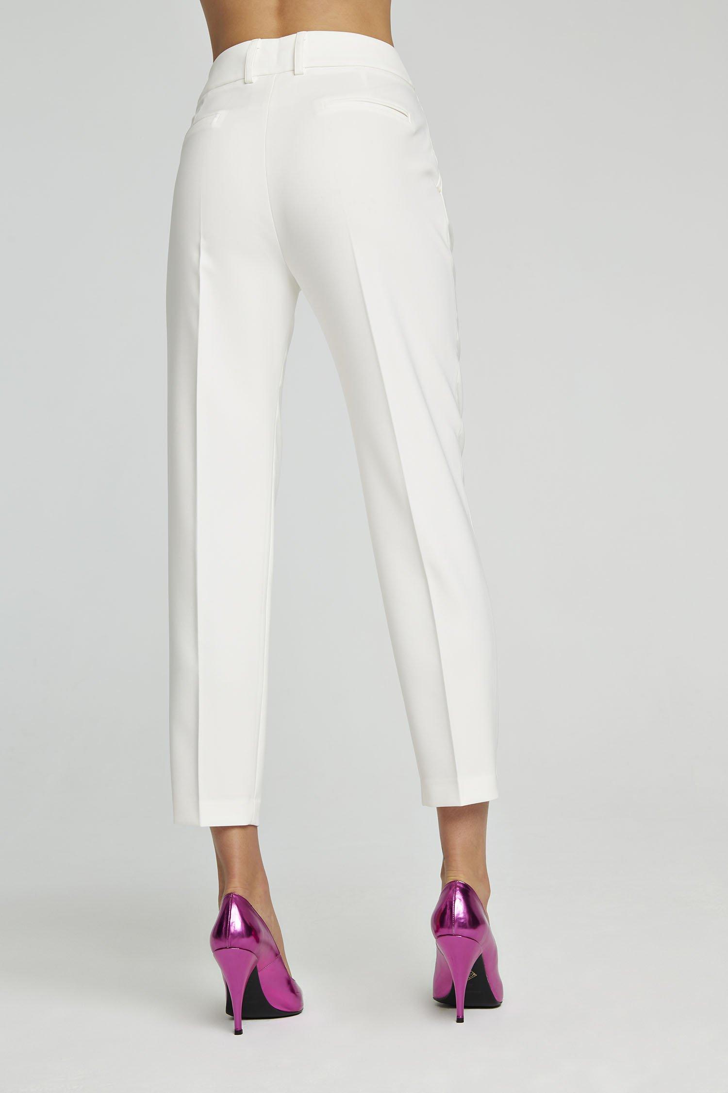 Pantalone Carrot Zoe bianco Aniye By