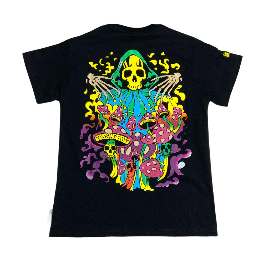 T-shirt Mushroom - Maglietta manica corta Nera Write da Uomo SS21
