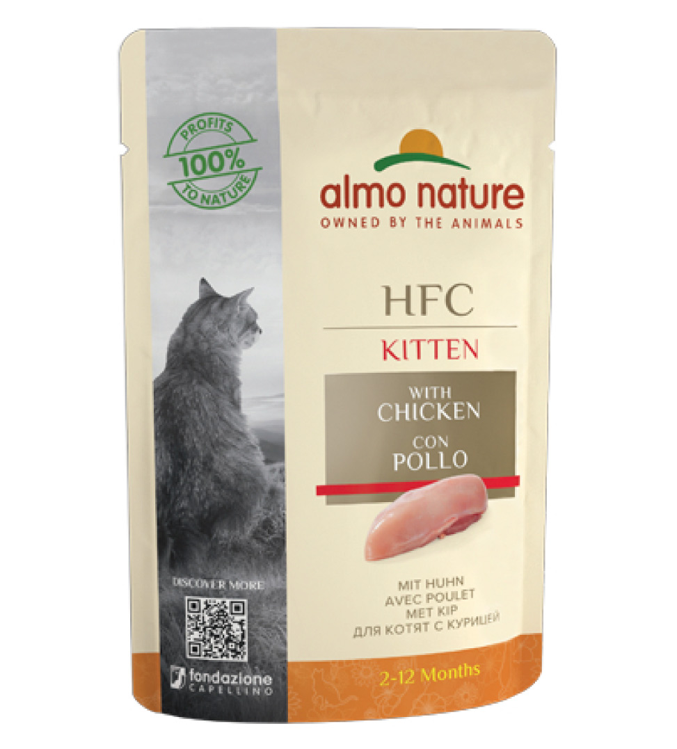 Almo Nature - HFC Cat - Kitten - Complete - 55g x 24 buste