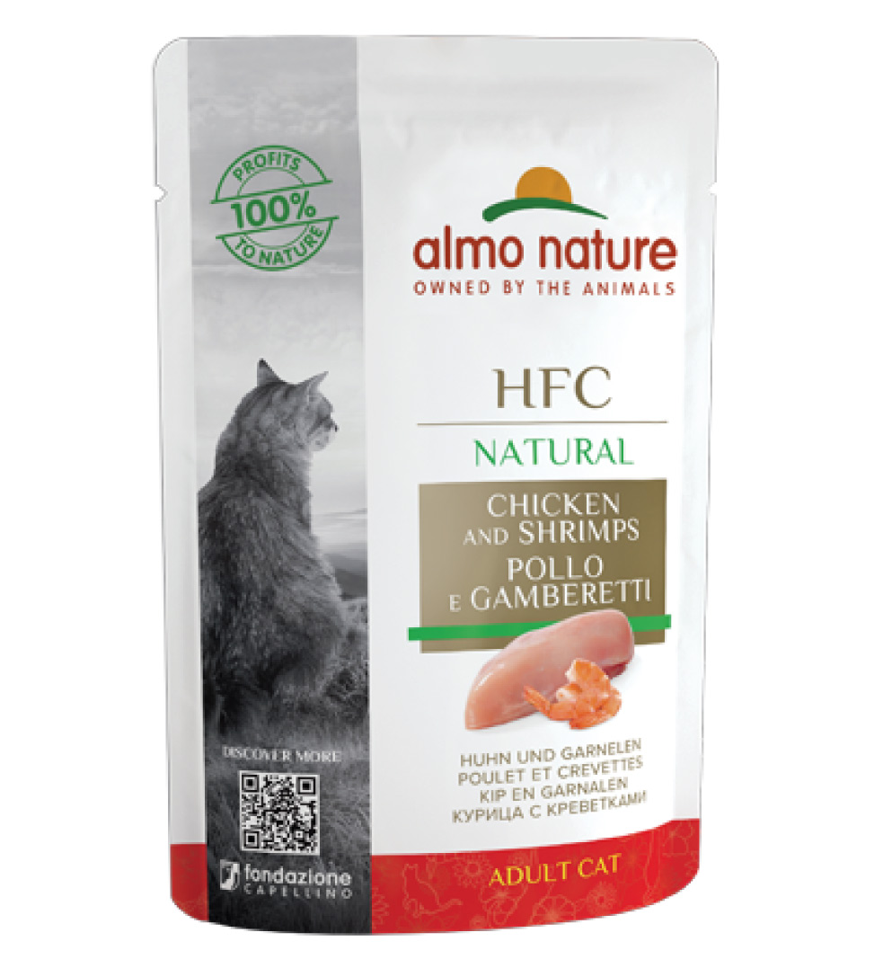 Almo Nature - HFC Cat - Adult - Natural - 55g x 6 buste