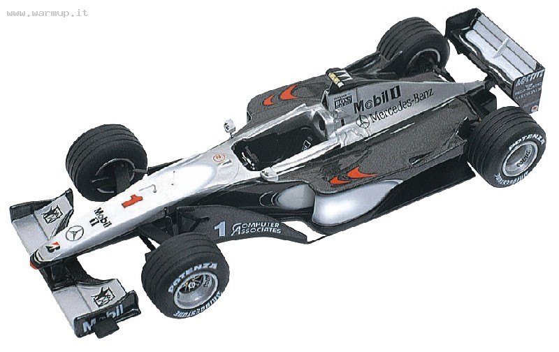 Mclaren Mercedes MP4/14 Spanish GP 1999 Winner Hakkinen Coulthard 1/43 Tameo Kit