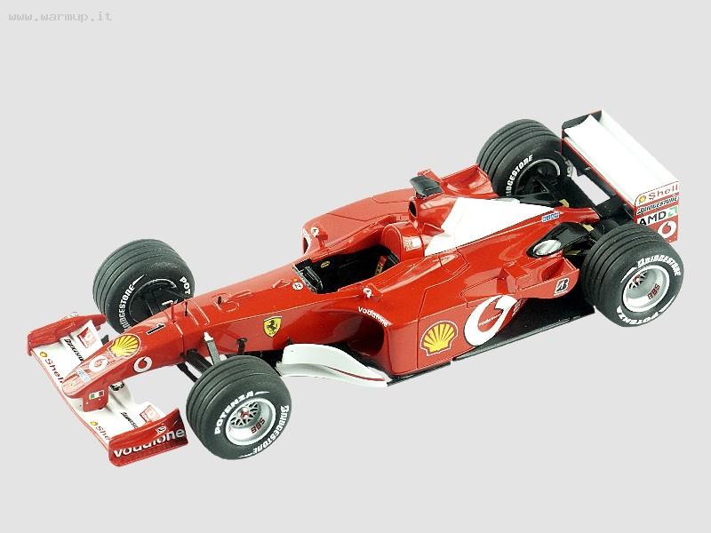 Ferrari F2001 Australian GP 2001 Winner M. Schumacher - R. Barrichello 1/43 Tameo Kit