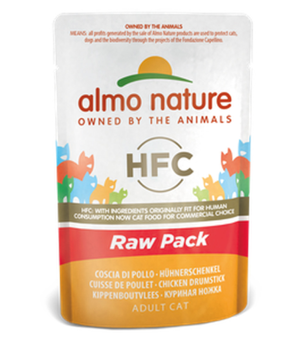 Almo Nature - HFC Cat - Adult - Raw Pack - 55g x 24 buste