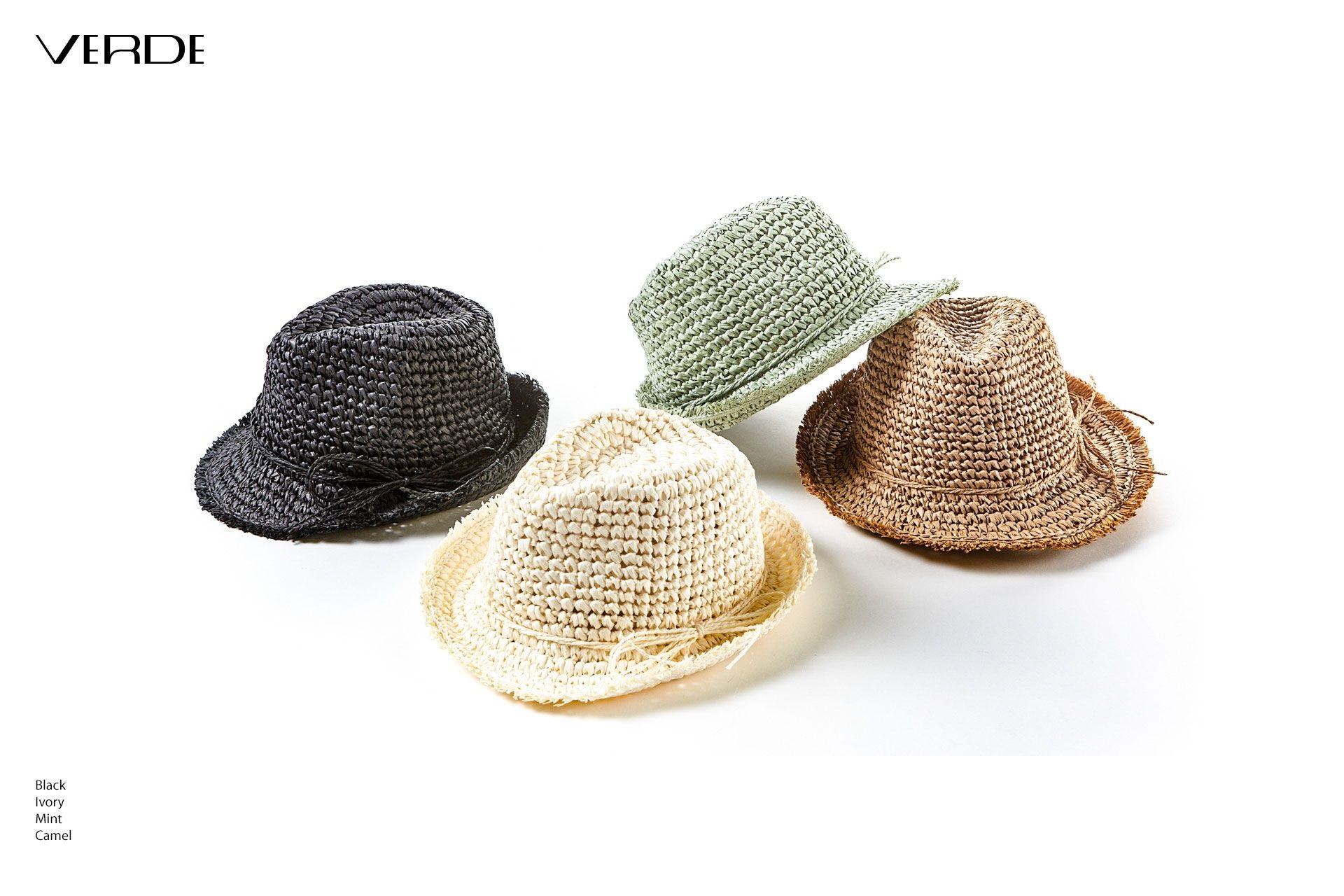 Cappello di paglia unisex. Cappelli estivi vendita online
