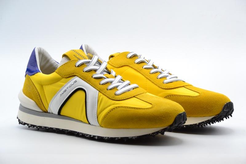 Novità P/E 2021 Ambitious Calzatura Uomo-Yellow/Royal Blue 11538-1273AM