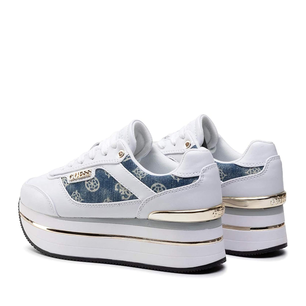 Sneakers donna GUESS FL5HNSDEN12 WHITE -21