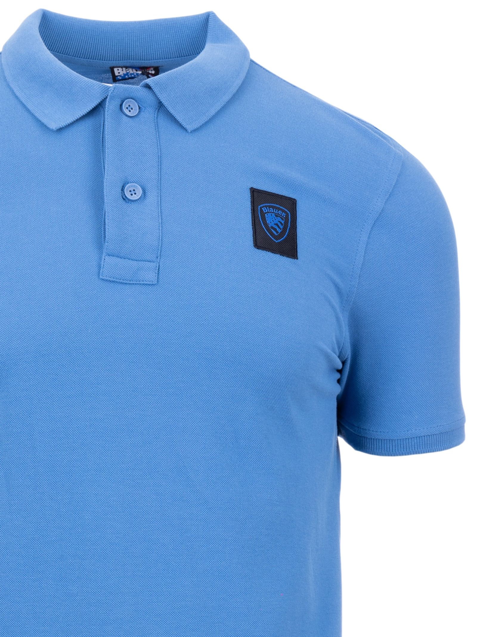 Blauer Polo 21SBLUT02271 005953