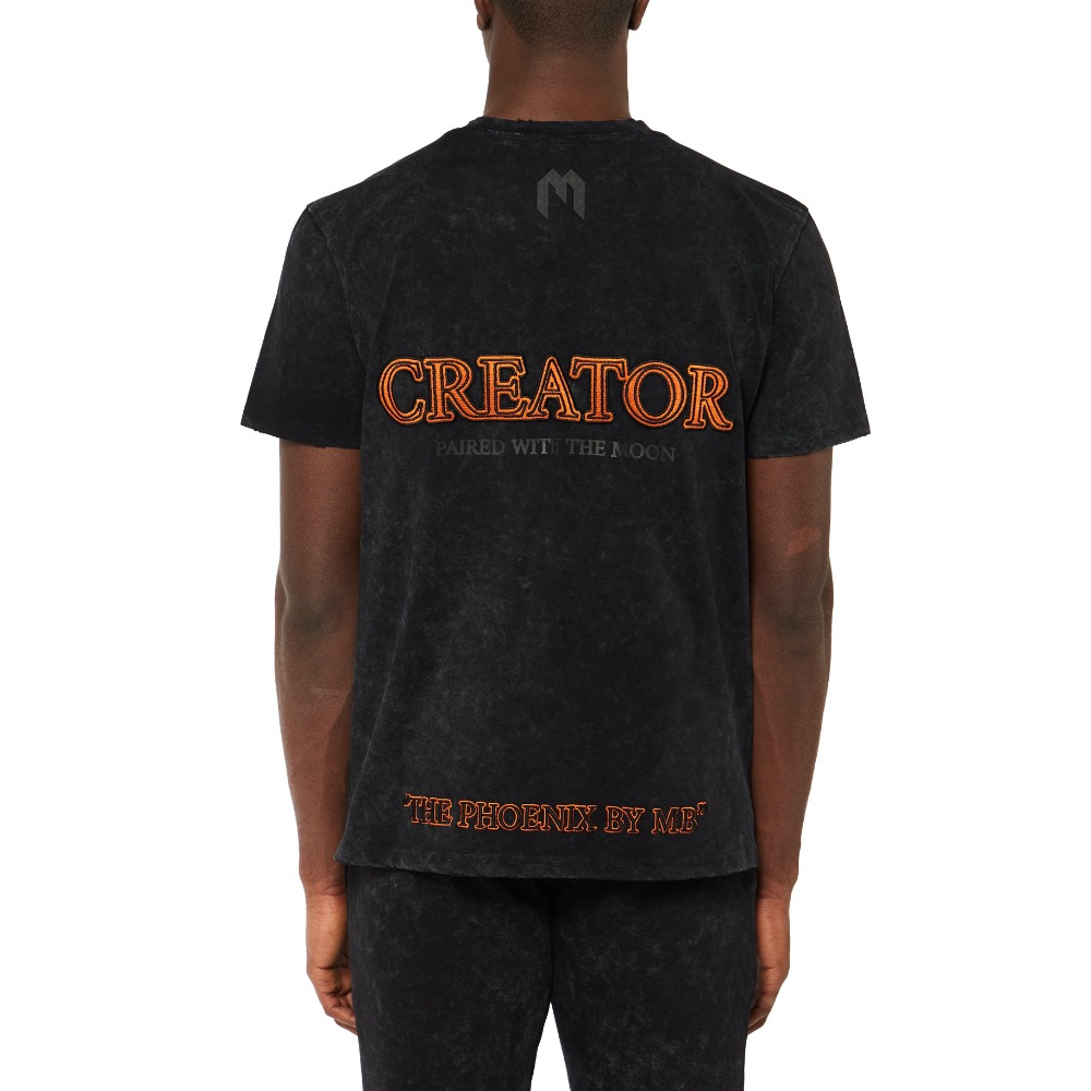T-shirt MY BRAND 1 X21 001 A0040 BLACK -21