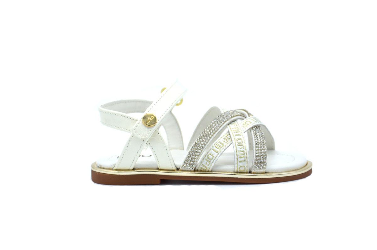 Mini Sally 303 sandalo con strass