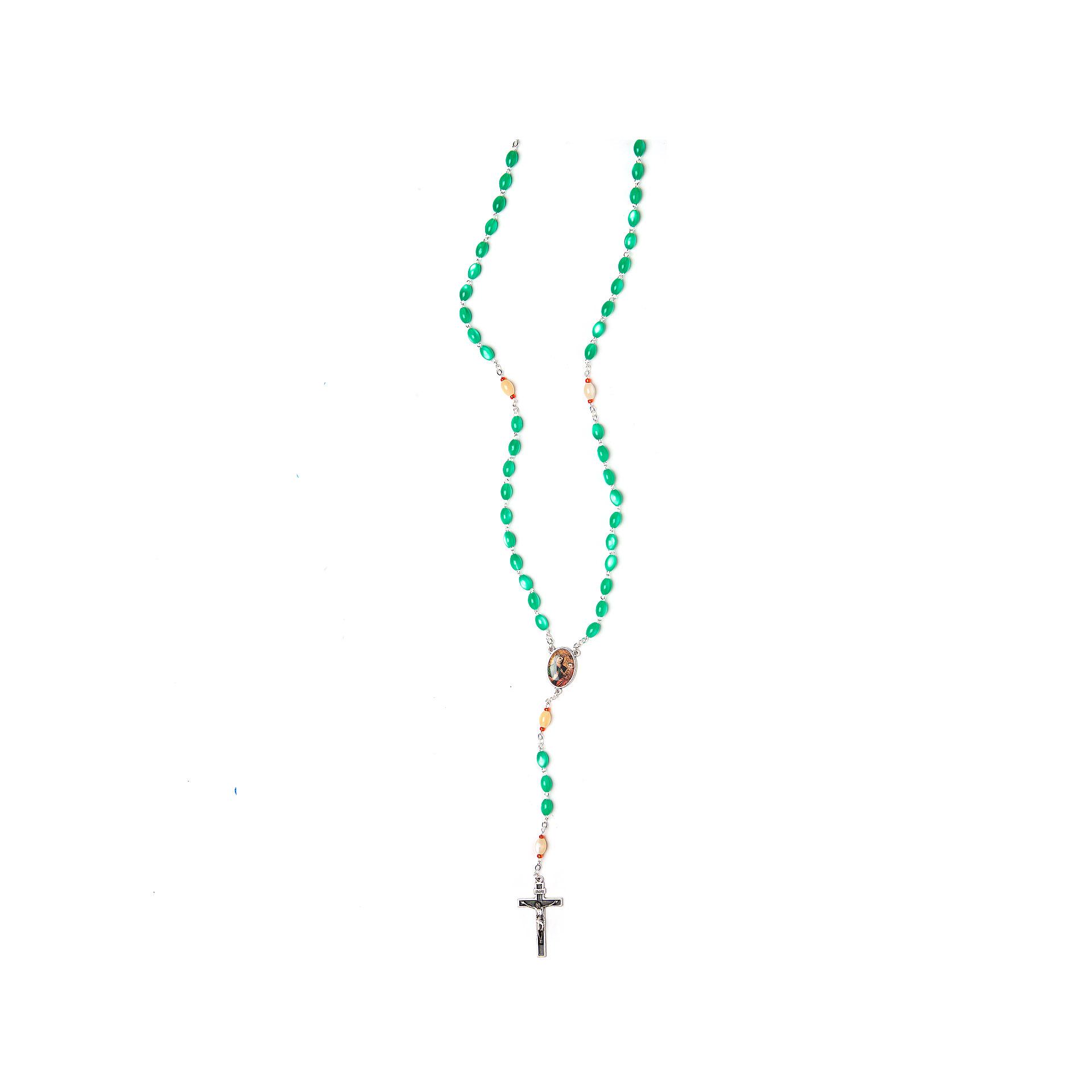 Rosario devozionale alla Madonna della Salute grano mm.6