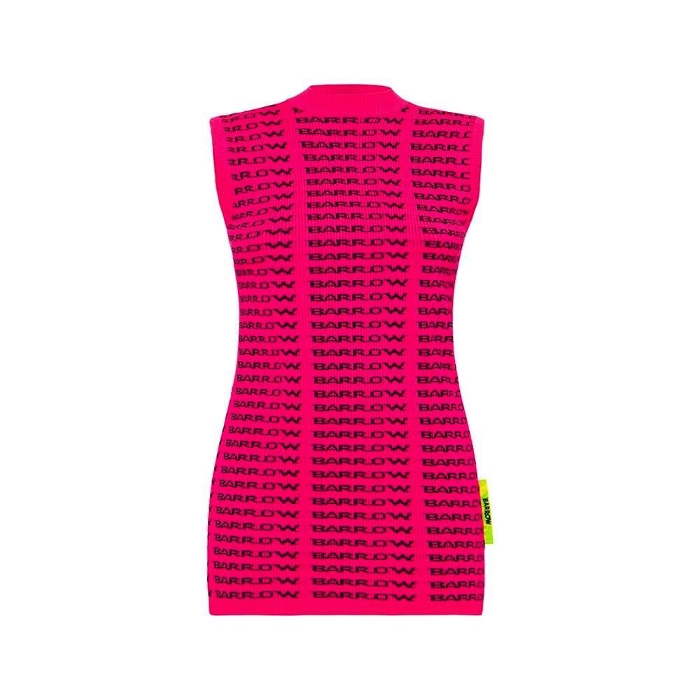 BARROW Dress Knitted Fucsia