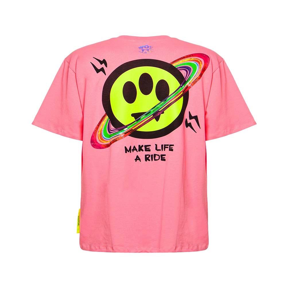BARROW Tee Make Life a ride Pink