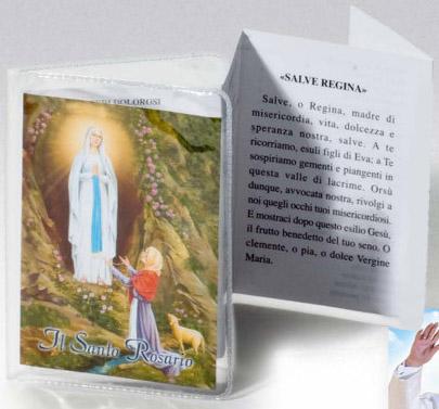 Pieghevole Il Santo Rosario