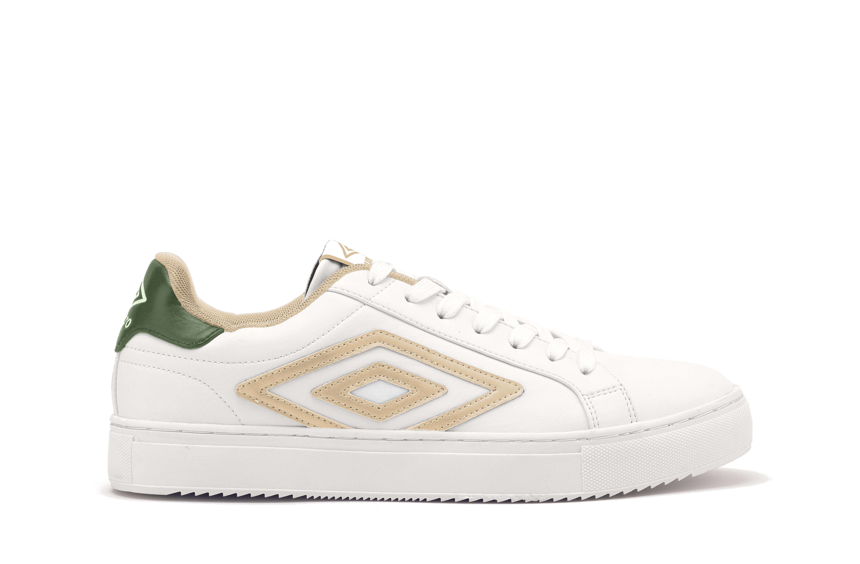 Scarpe Umbro DREDGE LOW - Sneakers da Uomo Bianca